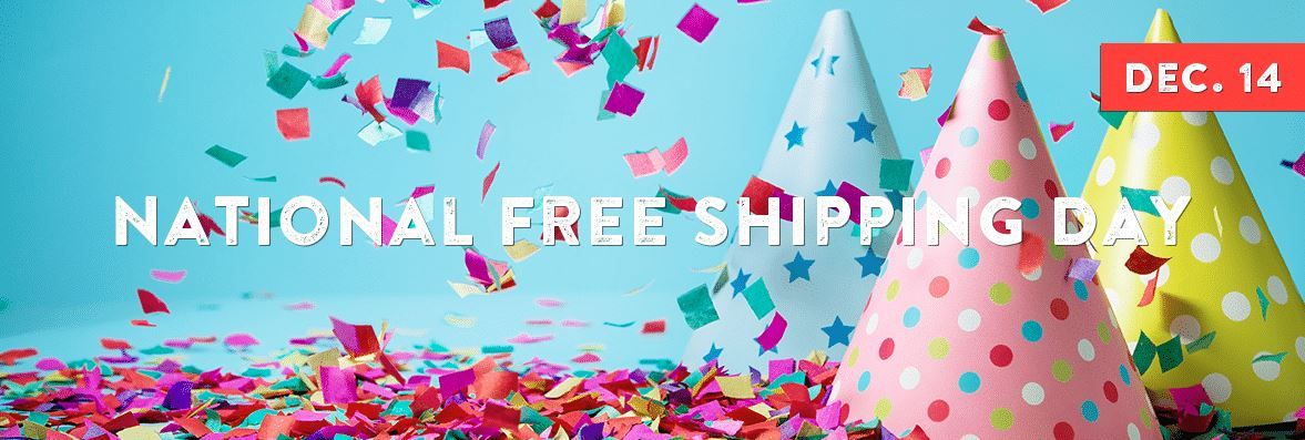 Why We Love National Free Shipping Day