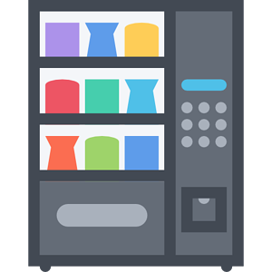 Vending machine technology clip art