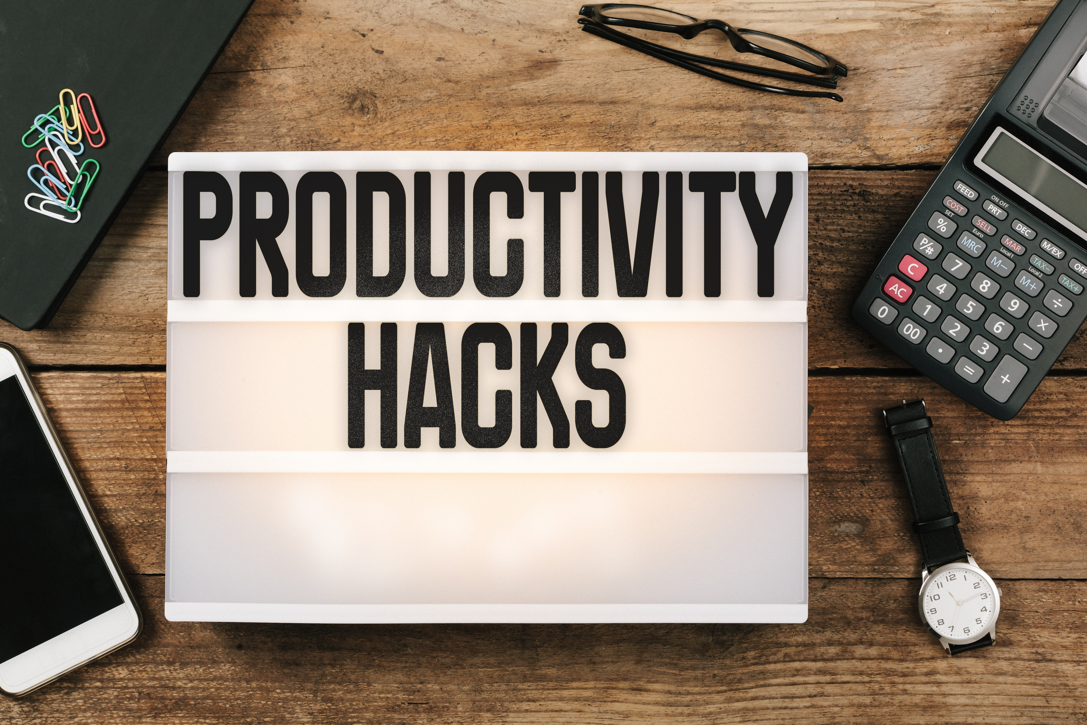 Top 10 Productivity Hacks for Small Business